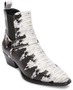 Design Lab Faux Leather Chelsea Boots