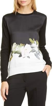 Ted Baker Bellae Opal Printed Sweater