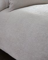 Vera Wang Queen Textured Floral Duvet Cover