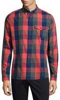 Michael Bastian Long-Sleeve Cotton Casual Button-Down Shirt