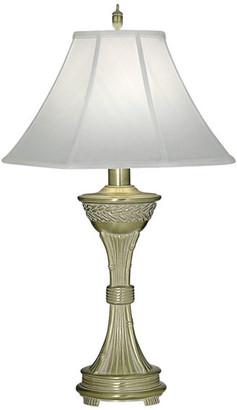 Stiffel   Lite Tops Stiffel Satin Brass Table Lamp