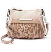 JLO by Jennifer Lopez Lisbeth Leopard Crossbody Bag
