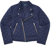 Ralph Lauren 7-16 Quilted Moto Jacket