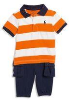 Ralph Lauren Baby's Two-Piece Shirt & Pants Set