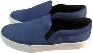 Celine Pull On Blue Pony-style calfskin Trainers