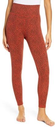 Rag Doll Leopard Print High Waist Leggings