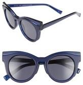 Le Specs 'Edition Three' 51mm Cat Eye Sunglasses