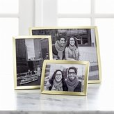 Crate & Barrel Eliza Brass Picture Frames