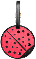 Kate Spade Turn over a new leaf ladybug luggage tag