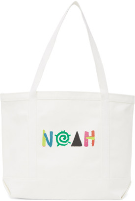 Noah NYC White More Core Tote