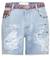Dolce & Gabbana Embellished denim shorts
