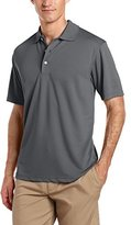 PGA TOUR Men's Golf Air Flux Short-Sleeve Solid Polo Shirt