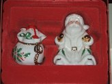 Lenox Santa and Toys Salt and Pepper Shakers