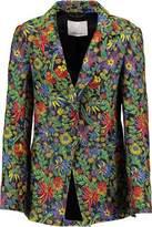 3.1 Phillip Lim Floral-Print Cloque Blazer