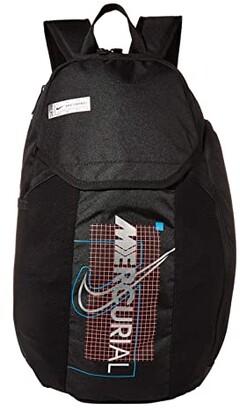 Nike Mercurial Backpack (Black/Laser Crimson/Metallic Black) Backpack Bags
