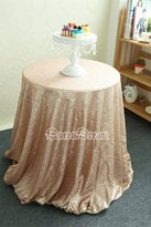 """B-COOL QueenDream 72""""round Inch sequin Table Cloth"""