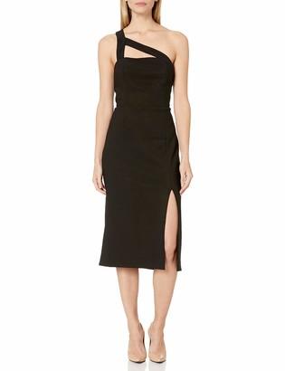 Finders Keepers findersKEEPERS Women's Daniela One Shoulder Midi Sheath Dress
