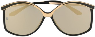 Elie Saab Structured Sunglasses