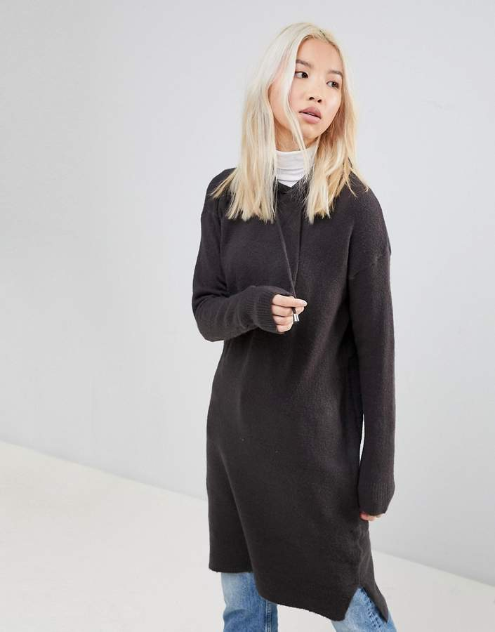 B.young Knitted Hoodie Dress