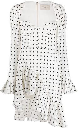 Giuseppe di Morabito Polka Dot Print Short Dress