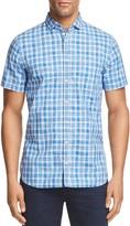 BOSS ORANGE Cattitude Plaid Slim Fit Button-Down Shirt