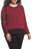 MICHAEL Michael Kors Plus Size Women's Mini Leaf Top