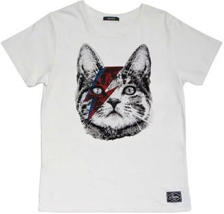 Suara - Cat Bowie Woman T-Shirt - Large