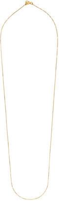 Bottega Veneta Gold Sterling Chain Long Necklace