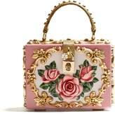 Dolce & Gabbana Rose-embossed box bag