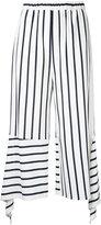 Goen.J stripe cropped trousers