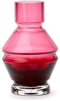 Raawii - Relae Small Glass Vase - Red
