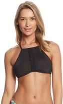 Kenneth Cole Reaction For The Frill Of It High Neck Bikini Top 8151104