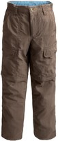 White Sierra Trail Pants - UPF 30, Convertible (For Youth)