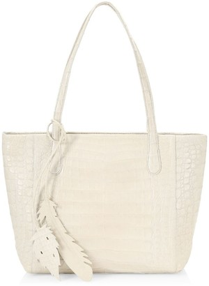 Nancy Gonzalez Small Erica Crocodile Tote