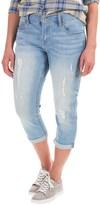 Seven7 Cuffed Girlfriend Crop Jeans (For Women)