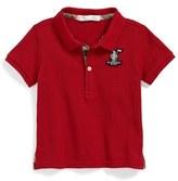 Burberry 'Palmer' Piqué Polo (Toddler Boys)