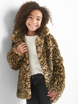 Gap Leopard coat