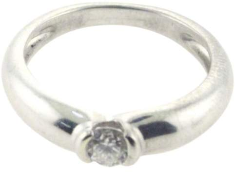 Cartier 18K White Gold Diamond Ring