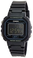 Casio Women's Core LA20WH-1B Resin Quartz Watch with Dial