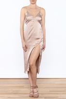 Cotton Candy Champagne Slip Dress