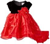 Nannette Baby Petal Dress & Bloomer Set (Baby Girls 3-9M)