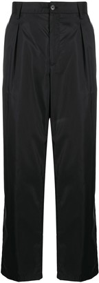 Valentino Technical Fabric Loose-Fit Trousers