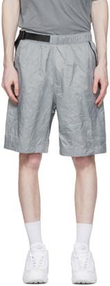 Nike Grey Sportswear Tech Pack Shorts
