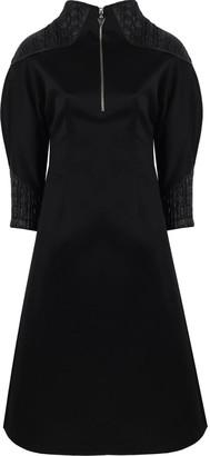 Mirimalist Angle Midi Dress Black