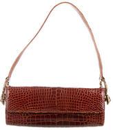 Roberto Cavalli Crocodile Shoulder Bag w/ Tags