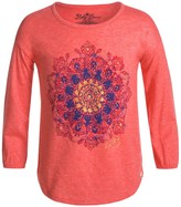 Lucky Brand Mandala T-Shirt - Long Sleeve (For Big Girls)