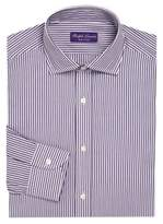 Ralph Lauren Purple Label Regular-Fit Bond Striped Dress Shirt