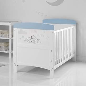 O Baby Disney 101 Dalmatians Inspire Cot Bed and All Seasons Pocket Sprung Mattress - Little Dreamer