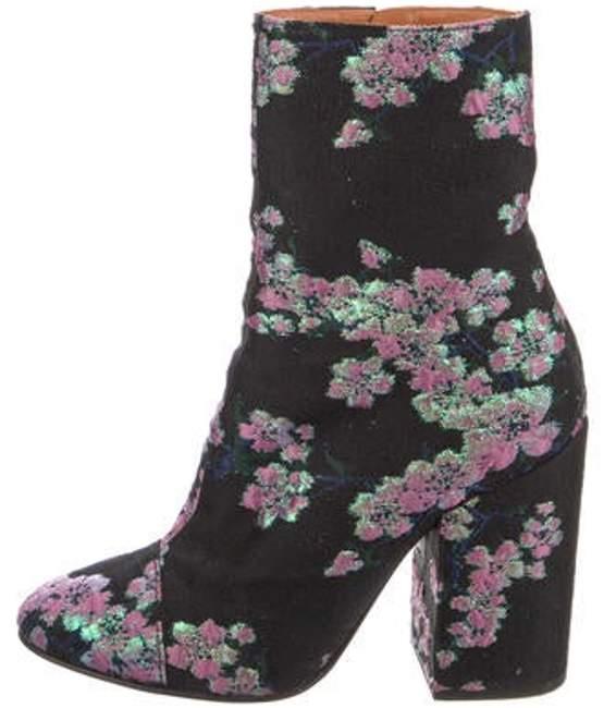 Dries Van Noten Brocade Ankle Boots Black Brocade Ankle Boots