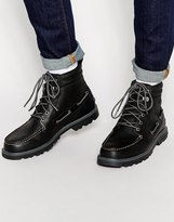 Sperry Lug Sole 6 Inch Boots - Black
